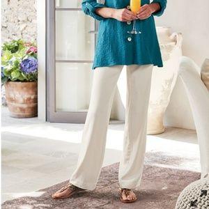Pants - Soft Surroundings silk pants